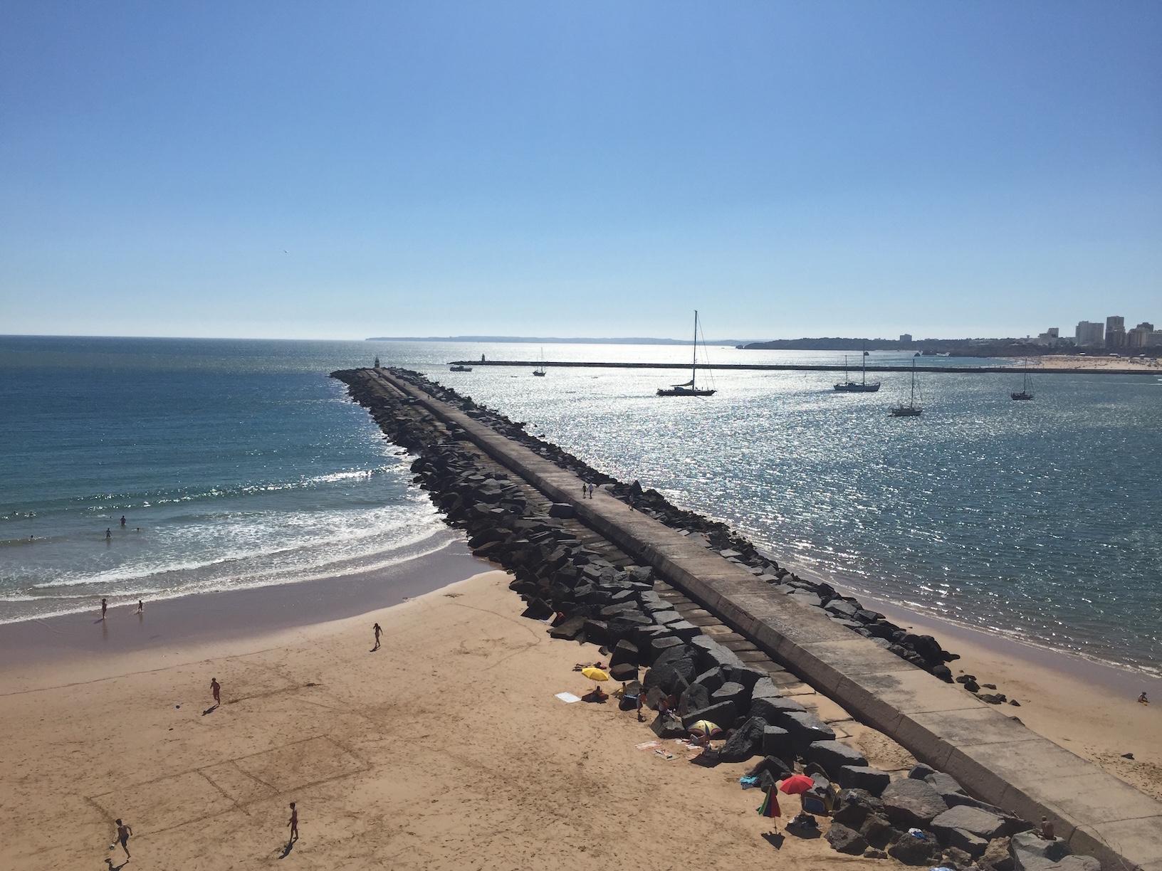 Molhe Beach (Praia Do Molhe) Ferragudo